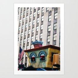 Sesame Street Float Art Print
