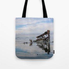 Fort Stevens State Park, Oregon // Peter Iredale Shipwreck Tote Bag