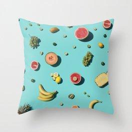 Fruities Throw Pillow