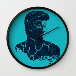 Uncharted Waters Wall Clock