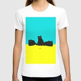 Three Cats T-shirt