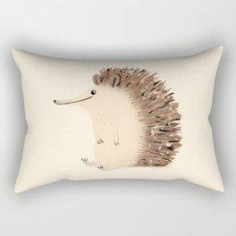 Happy Hedgehog Sketch Rectangular Pillow