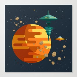The space base Canvas Print