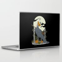 nouveau Laptop & iPad Skins featuring Halloween Nouveau by Perdita