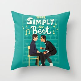 Simply the best Throw Pillow