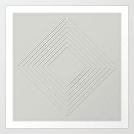 Celeste Diamonds Art Print