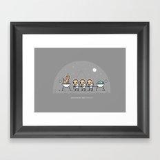 Catopia Framed Art Print