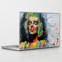 monroe Laptop & iPad Skins featuring Monroe by benjamin james