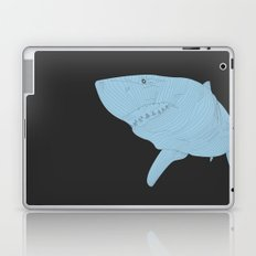 All lines lead to the...Inverted Great White Shark Laptop & iPad Skin