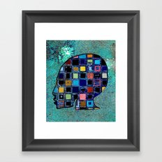 living in a box (global)4.Version Framed Art Print