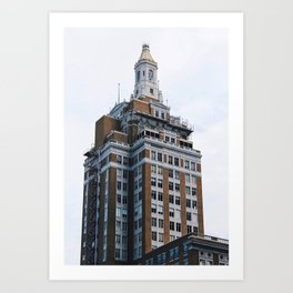 320 South Biston Buidling - Tulsa Art Print