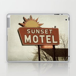 Sunset Motel Laptop & iPad Skin