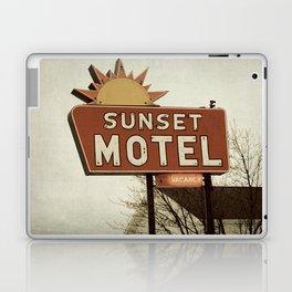 Sunset Motel Laptop & iPad Skin
