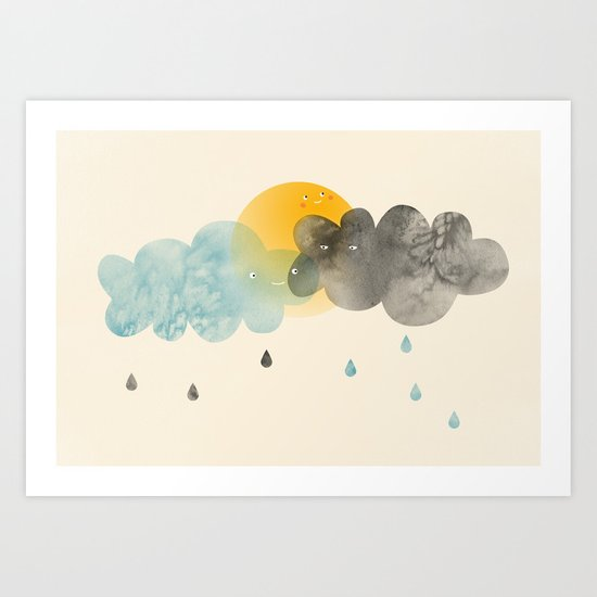 Today is gonna be a great day Art Print