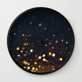 Light Touches Wall Clock