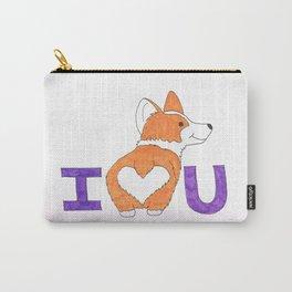 Corgi Butt Love you Carry-All Pouch