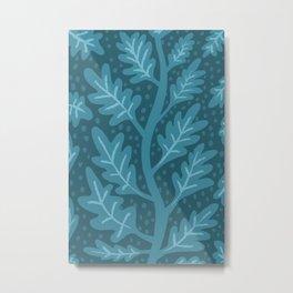 Lucious Leaves Metal Print