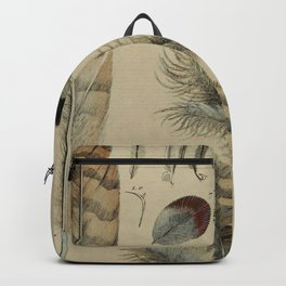 Naturalist Feathers Backpack