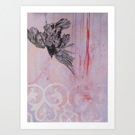 Morrigan's passing Art Print