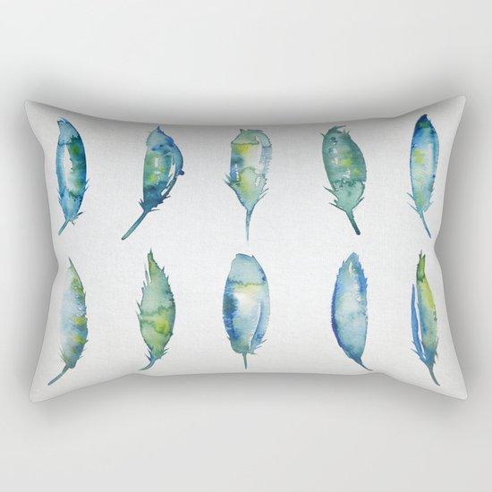 Feather Collection Rectangular Pillow
