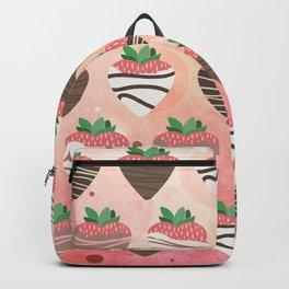Chocolate Loving Strawberries Backpack