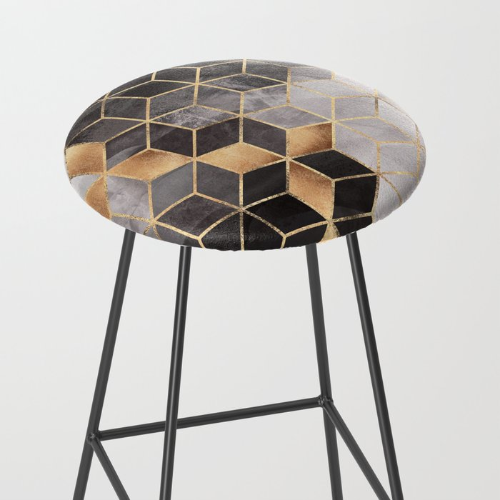 Smoky Cubes Bar Stool