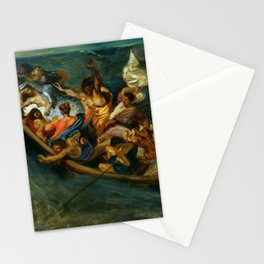 "Eugène Delacroix ""Christ on the Sea of Galilee"" (1841) Stationery Cards"