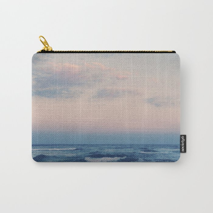 wild seas, pastel hues Carry-All Pouch