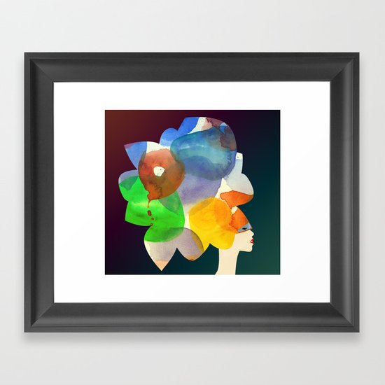 We Discovered Planets Framed Art Print