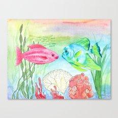 Buck and Wanda Canvas Print