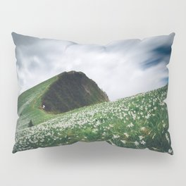 Thousands of narcissus on Golica, Slovenia Pillow Sham