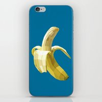 banana iPhone & iPod Skins featuring Banana by Liam Brazier