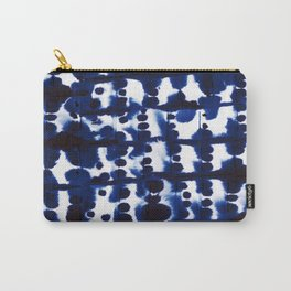 Parallel Indigo Carry-All Pouch