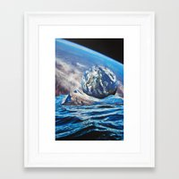 planets Framed Art Prints featuring Planets by John Turck