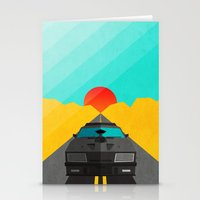 mad max Stationery Cards featuring Max is Mad by Bakus