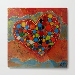 love for colors  Metal Print