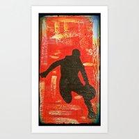 Hoop Dreams 2 Art Print