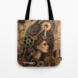 Furiosa, the Steampunk Girl Tote Bag