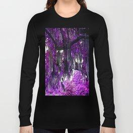 Trees Purple Moss Long Sleeve T-shirt