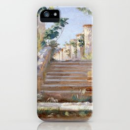 Peder Severin Krøyer Loggia in Ravello iPhone Case