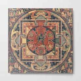 Indian Tapestry Metal Print