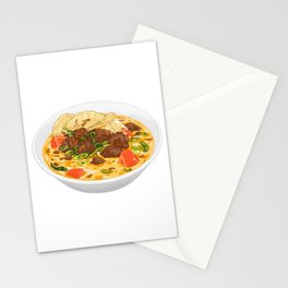Soto Betawi Stationery Cards