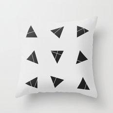 Nine Tries Throw Pillow