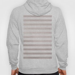 Rose Gold and Pink Small Stripes Pattern Hoody