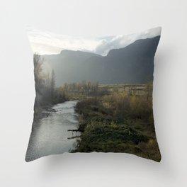 Columbia Gorge Throw Pillow