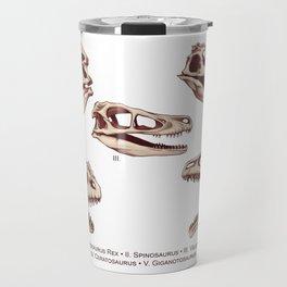 Dinosaur Skulls: Carnivores Travel Mug