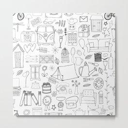 Simple Things Metal Print