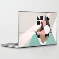 uk Laptop & iPad Skins featuring Locals Only - London - UK by Natalie Nicklin