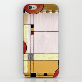Astratto Rosso iPhone Skin