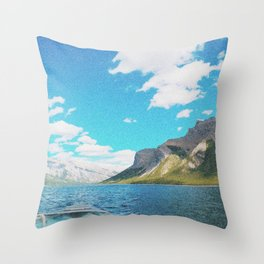 Banff Boatride Throw Pillow